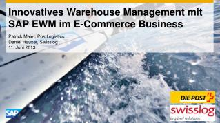 Innovatives Warehouse Management mit SAP EWM im E-Commerce Business