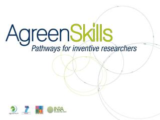 AgreenSkills is an open programme of international mobility