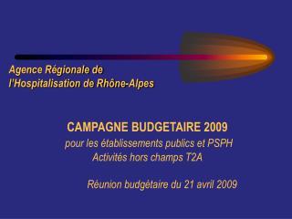 Agence Régionale de l'Hospitalisation de Rhône-Alpes