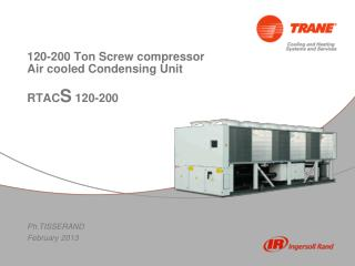 120-200 Ton Screw compressor  Air cooled Condensing Unit