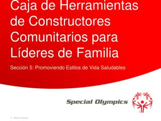 Caja de Herramientas de Constructores Comunitarios para L�deres de Familia