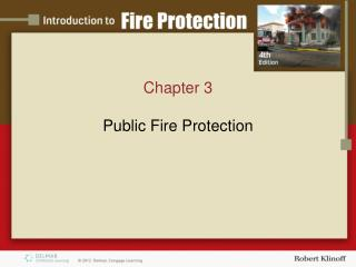 Chapter 3  Public Fire Protection