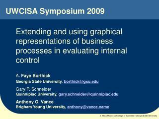 UWCISA Symposium 2009