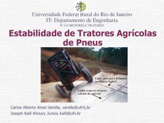 Estabilidade de Tratores Agr�colas de Pneus