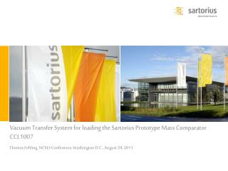 Vacuum Transfer System for loading the Sartorius Prototype Mass Comparator CCL1007
