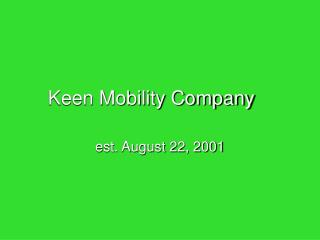 Keen Mobility Company