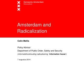 Amsterdam and Radicalization