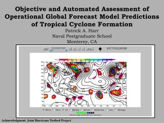 Acknowledgment: Joint Hurricane Testbed Project