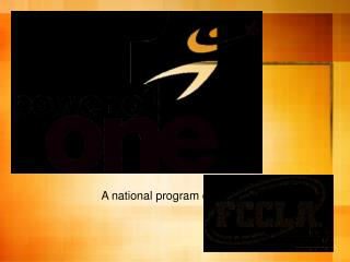 A national program of