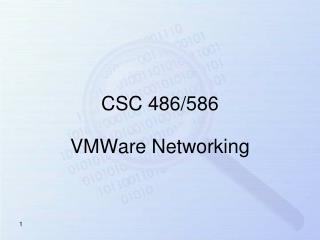 VMWare Networking