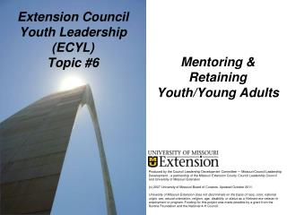Extension Council Youth Leadership (ECYL) Topic #6
