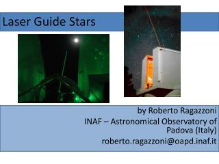 Laser Guide Stars