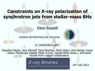 Constraints on X-ray polarization of synchrotron jets from stellar-mass BHs
