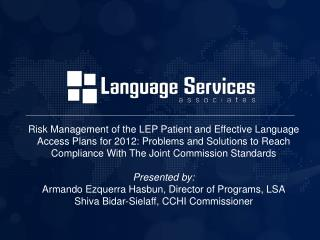 LSA Company Overview