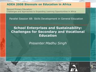 Parallel Session 6B: Skills Development in General Education