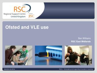 Ofsted and VLE use