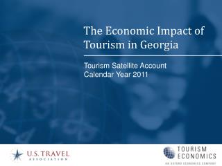 Tourism Satellite Account Calendar Year 2011