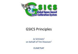 GSICS Principles