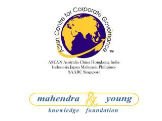 Presentation by M.K. Chouhan Chairman, Mahendra & Young Knowledge Foundation