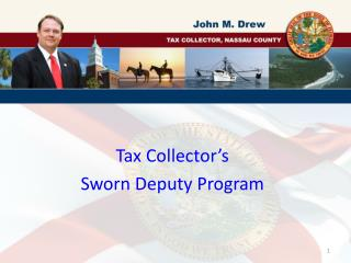 Tax Collector's Sworn Deputy Program