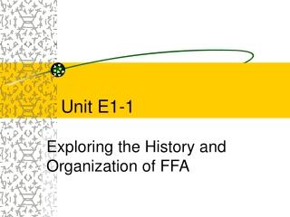 The FFA History