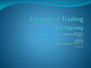 Congolese Trading Company