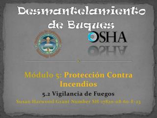 Módulo  5:  Protección  Contra  Incendios 5.2  Vigilancia  de  Fuegos