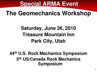 Special ARMA Event