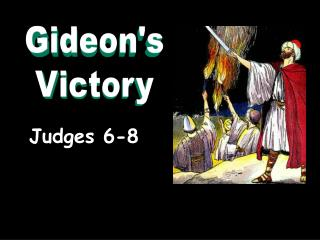 Judges 6-8