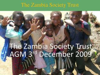 The Zambia Society Trust