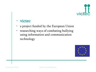 victec a project funded by the European Union