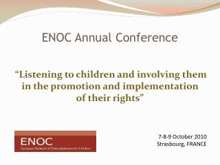 ENOC Annual Conference