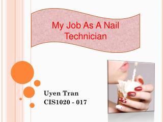 Uyen Tran CIS1020 - 017
