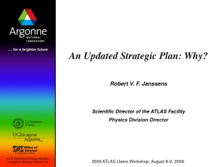 Five-Year Strategic Plan 2009-2013