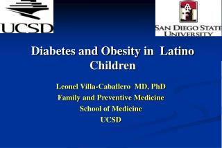 Diabetes and Obesity in  Latino Children