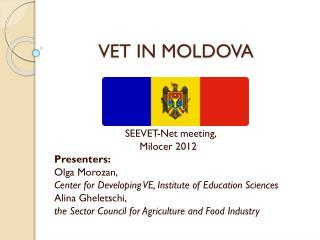 VET IN MOLDOVA