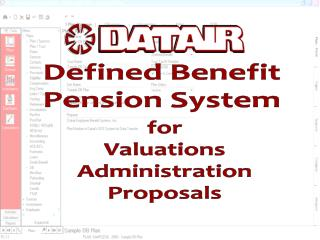 Defined Benefit Pension System