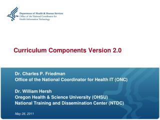Curriculum Components Version 2.0