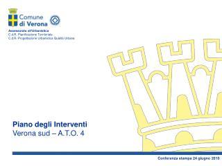 Piano degli Interventi Verona sud – A.T.O. 4