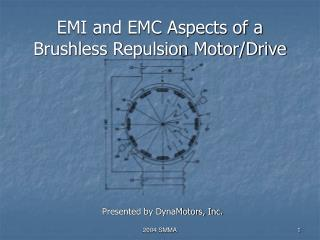 EMI and EMC Aspects of a Brushless Repulsion Motor