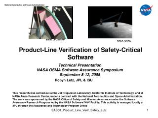 Product-Line Verification of Safety-Critical Software