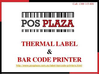 Thermal Label & Bar Code Printer