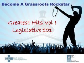 Greatest Hits Vol I Legislative 101