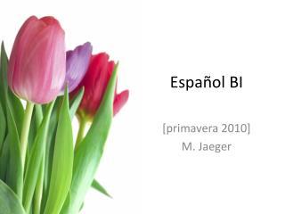 Español  BI