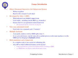 Ganga: Introduction