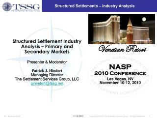 Structured Settlements – Industry Analysis