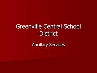 Greenville Central School District