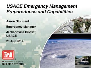 USACE Emergency Management Preparedness and Capabilities