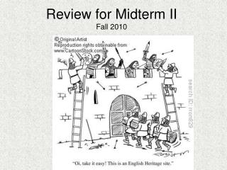 Review for Midterm II Fall 2010