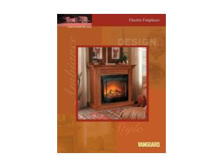 21� Electric Mini Fireplace with Remote Control